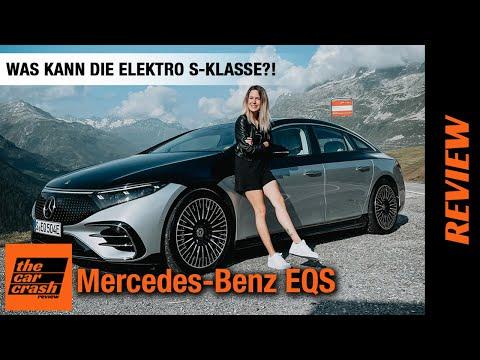 Mercedes Benz EQS (2021) Was kann die Elektro S-Klasse?! 🤔 Fahrbericht   Review   Test   Reichweite