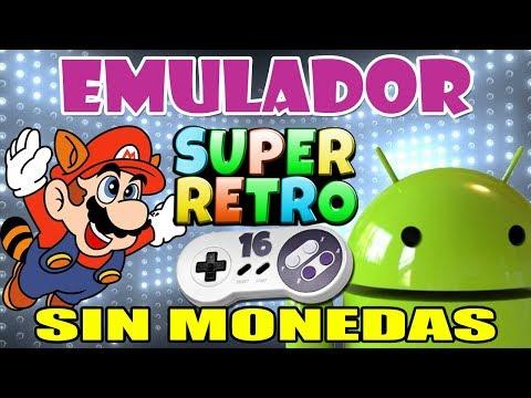 Descargar Emulador de SNES Super Retro 16 para Android | SIN MONEDAS + Multijugador Configuracion