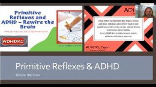Primitive Reflexes and ADHD – Rewire the Brain