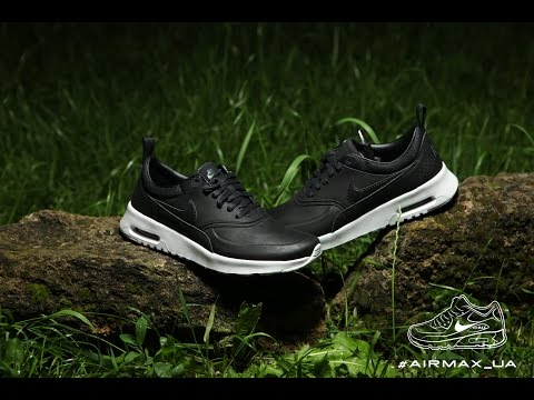 Nike Air Max Thea Premium black grey