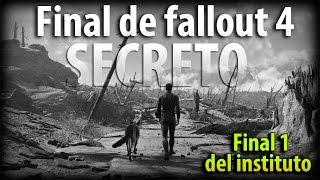 Fallout 4 - Final secreto del instituto, escena Bonus. Qué pasa después? Análisis final 1 de 3