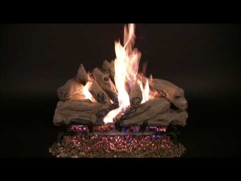 Rasmussen Evening Campfire Vented Gas Log Set