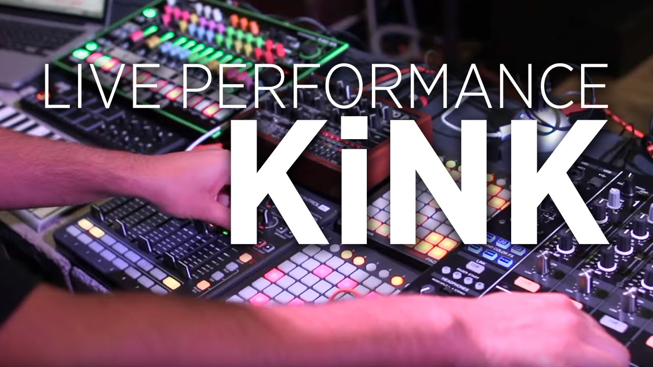 KiNK - Live Performance for DJ Tech Tools 2015