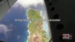 B52 drone video - Edwards Air Force Base