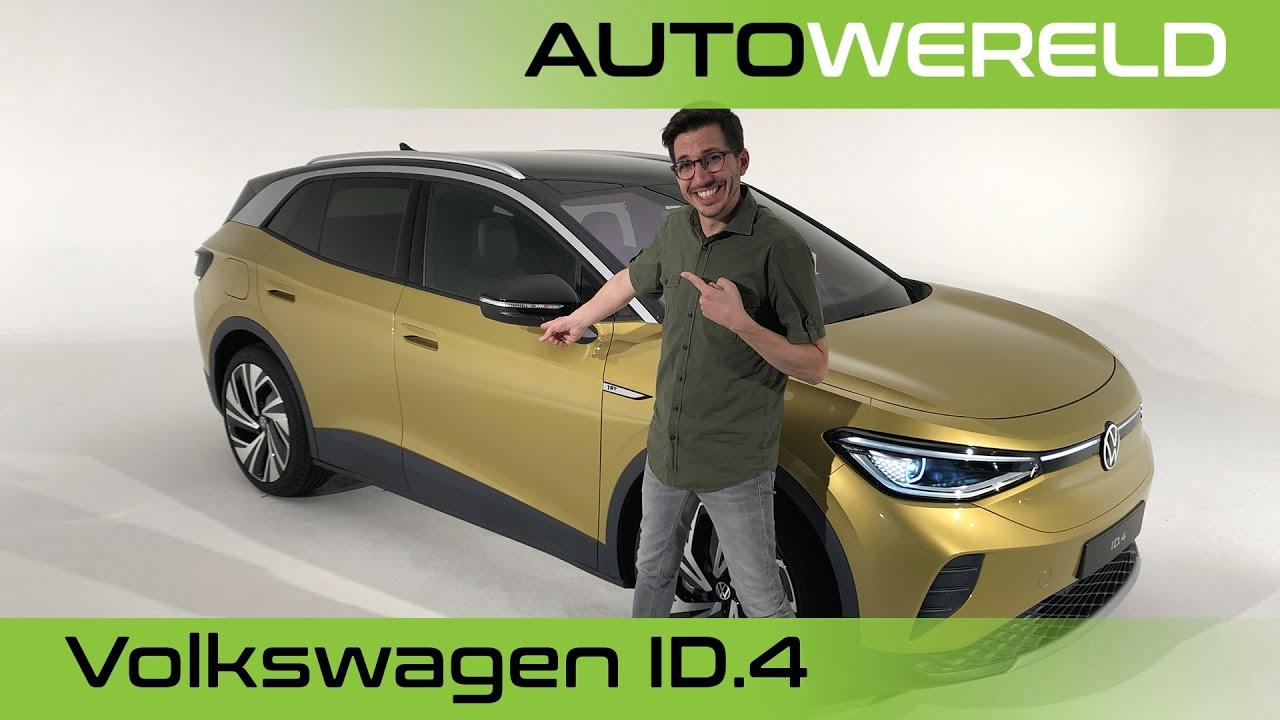 Elektrische Volkswagen ID.4 met Andreas Pol