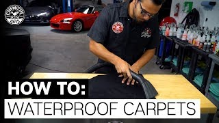 How To Protect Carpet and Fabric Components!