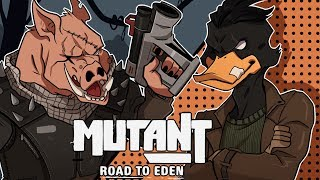 THIS GAME IS DOPE AS HELL! | Mutant: Year Zero - Road To Eden