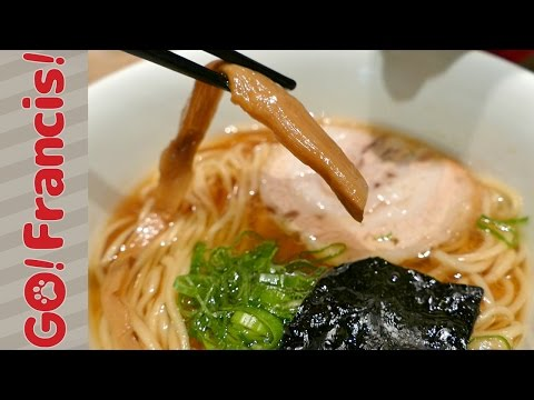 Let's enjoy the Ramen Museum!   Go! Francis! Cooking with Dog