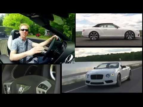 2014 Bentley Continental GT V8 S Convertible - TestDriveNow.com Review by Auto Critic Steve Hammes