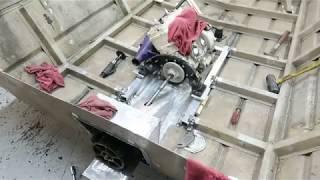 Jet Boat Build ep 3 - Engine/Pump/Driveshaft