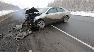 Скания VS Toyota: crash-тест Камри!