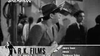 """Ретрокиноклуб. Зарубежные фильмы 30 -70х, Песня """"Awara Hoon"""" из фильма «Бродяга / Awara» 1951"""