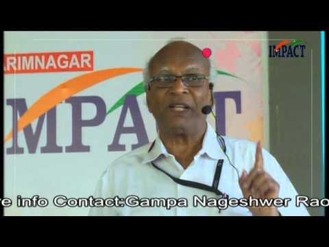 Time Management|V Viswanadham|TELUGU IMPACT Karimnagar 2016
