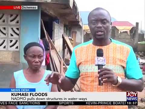 Kumasi Floods - News Desk on JoyNews (3-7-18)
