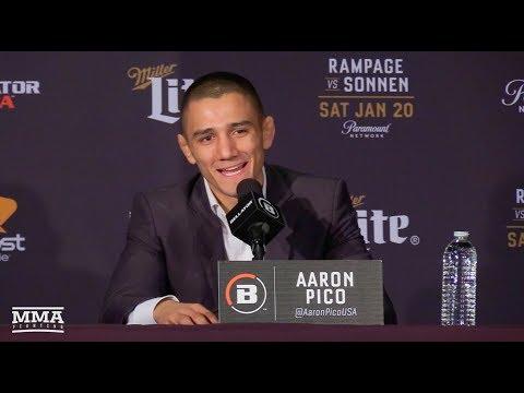 Bellator 192: Aaron Pico Post-Fight Press Conference - MMA Fighting