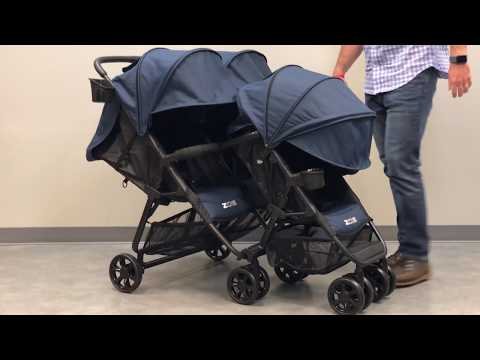 ZOE XL3 BEST v2 Triple Stroller Connection to XL2 – 2018 Intro