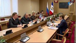 Глава региона встретился с генеральным консулом Италии в Санкт-Петербурге