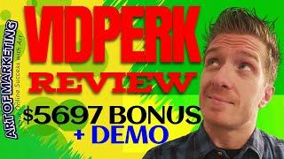 VIDPERK Review, Demo, $5697 Bonus, VID PERK Review