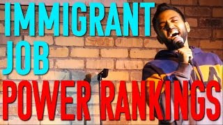 The Best & Worst Immigrant Jobs | Akaash Singh | Freestyle Stand Up Comedy