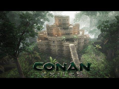 How to build ELEVATORS | CONAN EXILES - смотреть онлайн на