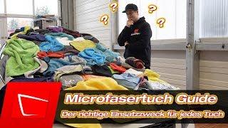 Autopflege Microfasertücher Das richtige Tuch für jeden Einsatzzweck - Anfängerset