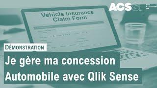 ACSSI : Gérer une concession automobile avec Qlik Sense