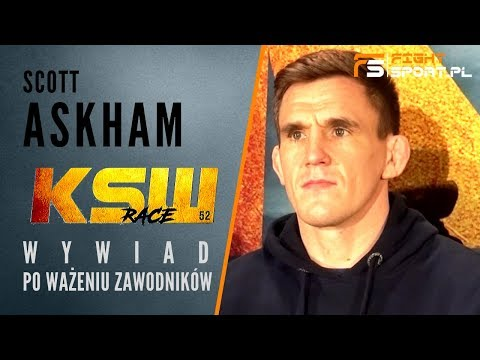 Scott Askham interview before the fight against Mamed Khalidov on the KSW 52 Gliwice