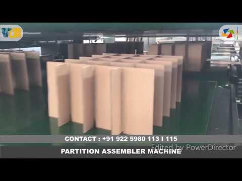 Partition Assembler Machine - High Speed