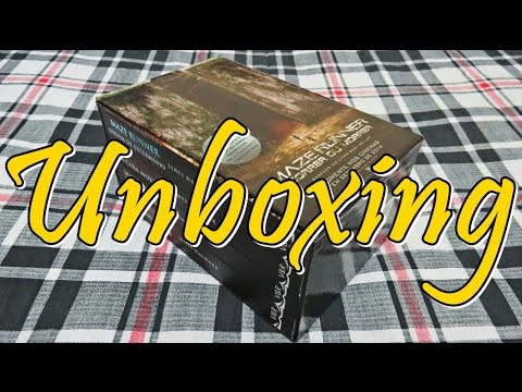 UNBOXING: Box Maze Runner - James Dashner