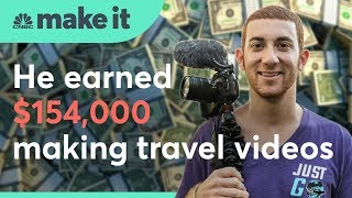 This travel enthusiast skipped a corporate job, but still makes six figures | CNBC Make It