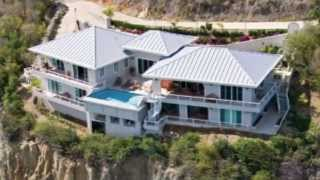 preview picture of video 'St. Thomas Luxury Villa - Cabrita Cliff Haus - Vacation Rental'