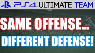 Madden 15 - Madden 15 Ultimate Team - SAME O, DIFFERENT D | MUT 15 PS4 Gameplay