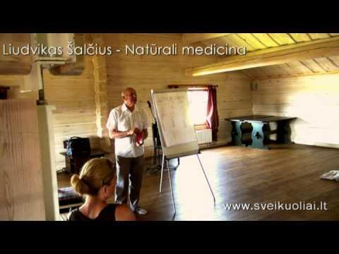 Natūrali medicina 1 – Liudvikas Šalčius