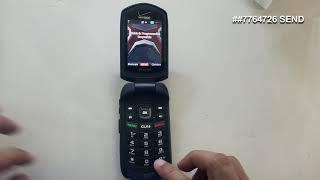 Convertir Kyocera E4520ptt verizon CDMA to GSM