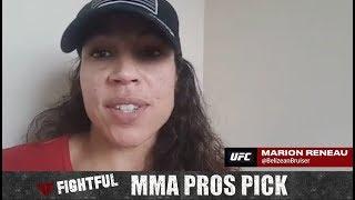 MMA Pros Pick - Rose Namajunas vs. Joanna Jedrzejczyk II (UFC 223)