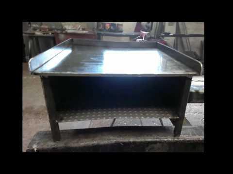 Como hacer una Plancha de Asar (www.Talleres-royo.com) .mp4