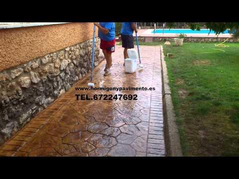 Hormigon Impreso Riocavado De La Sierra 672247692 Burgos