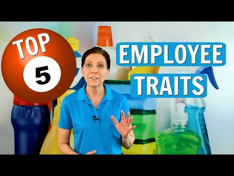 5 Success Traits of Cleaning Employees