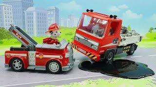 Мультики про машинки - видео для детей с игрушками Щенячий Патруль - Ученик!