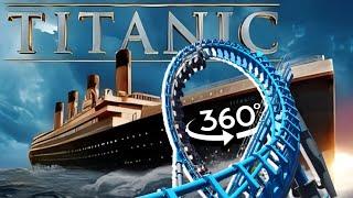 🔴 VR Coaster 360° on TITANIC VR Videos 360 Split Screen Virtual Reality