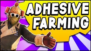 Fallout 76 - ADHESIVE FARMING but Not What You'd Expect (Fallout 76 Guide)