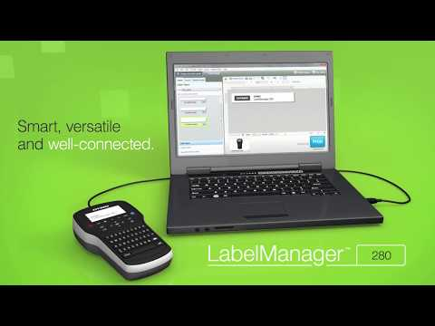 Dymo Label Manager 280 Rechargeable Handheld Label Maker