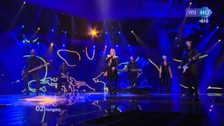 [HD] Eurovision 2012 - Hungary - Compact Disco - Sound Of Our Hearts [FINAL]
