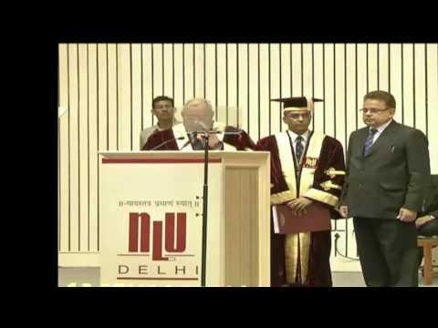 National Law University, Delhi video cover1