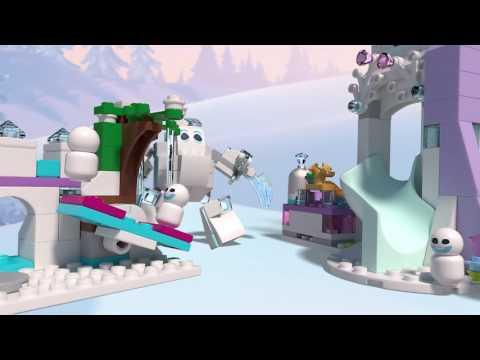 Lego Disney Princess 41148 Elsa Varázslatos Jégpalotája  Bontatlan, Új!!!