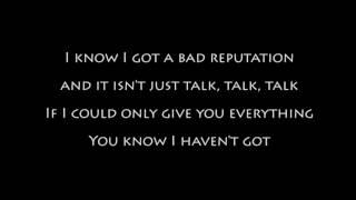 freedy johnston - bad reputation - karaoke