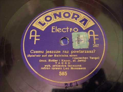 Spiel mir auf der Balalaika - Leo Monosson in Polish