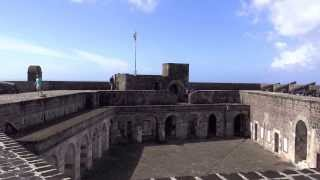 preview picture of video 'St. Kitts - Brimstone Hill Fortress National Park HD (2013)'