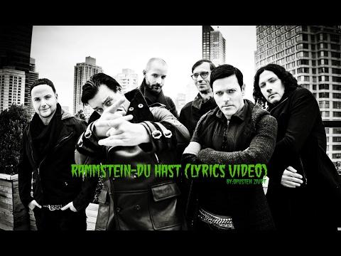 Rammstein-Du hast (Lyrics video)