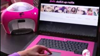 2009 Barbie Doll'd Up Nails B-Nails Digital Nail Printer Commercial